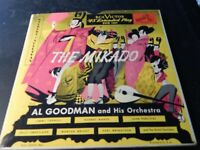 The Mikado, Gilbert and Sullivan Al Goodman Orchestra RCA Victor 45 extended