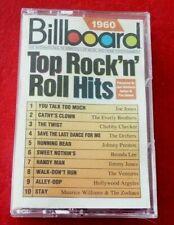 *Cassette Audio Album Billboard 1960 Top Rock'n'Roll Hits -