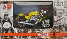 New-ray 71561 - Ducati 750 Sport 1973 - Yellow - (1:32 Scale) - Diecast/Plastic