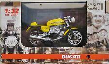 New-ray 71561 - Ducati 750 Sport 1973 - Yellow - (1:32 Scale) - Diecast/Plastic