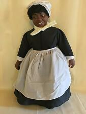 "19"" World Doll 1989 Gone With The Wind Mammy Black Vinyl 50th Anniversary Doll"