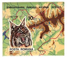 stamps ROMANIA/POSTA ROMANA A950 Retezat Natl Park 50th Anniv. Souv Sh MINT MNH