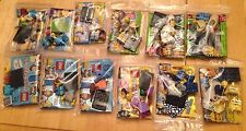 Lego Minifigures Series 12 & 13 & The Simpsons Series 1 & 2 Lot 12 Minifigures