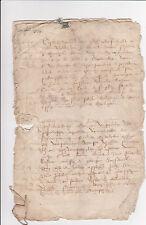Historische Handschrift Frankreich 1666 Dokument France Manuskript rar