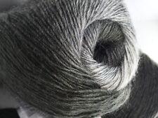 1 100 gram Alpaca Active Yarn #58395 Grey Shades Fine Sport Weight 601yds