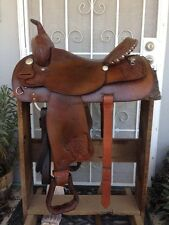 "Tex Tan Hereford Brand 16"" Trail Pleasure Western Saddle"