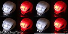 8pcs  2LED Bike Light Bicycle Light Lamp Waterproof Head Tail Wheel Silicone SET