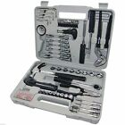 141pcs PRO COMPLETE TOOL KIT + CASE Screwdriver Socket Hammer Tool Set