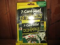 7- Card Stud For Dummies A Card Game A Card Game For The Rest
