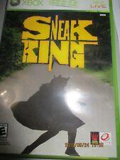 Sneak king     Microsoft Original Xbox mint condition