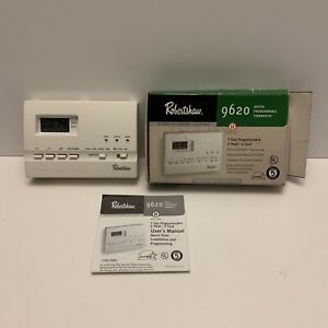Robert Shaw 9620 Programmable Digital Thermostat