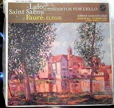 Lalo/Saint-Saens/Faure/Cassado    Cello Concertos   Vox