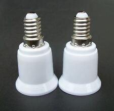 5PCS E14 to E27 Base LED Light Lamp Bulb Adapter Converter Screw Socket RS