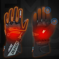 Electric Rechargeable Battery Heated Winter Gloves Motorcycle Bike Ski Warmer