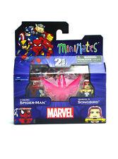 Marvel Minimates Cyborg Spider-Man & Marvel's Songbird Series 50 New In Box