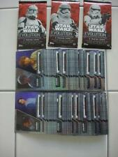 2016 Topps Star Wars Evolution Complete PURPLE Parallel Set of all 100 Cards