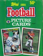 1991 Topps Football Wax Box. Case Fresh 36pks