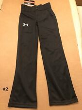Under Armour Boy's Utility Relaxed Baseball Pants, Youth Large, Gray