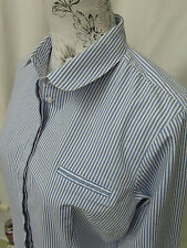 Collared Semi Fitted Striped Tops & Shirts NEXT for Women