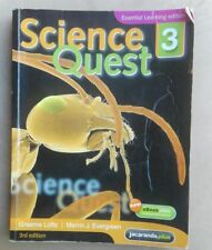 SCIENCE QUEST 3: 3RD EDITION JACARANDA USED BOOK IN VERY GOOD CONDITION
