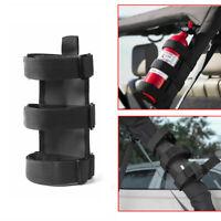For Jeep Wrangler Car Adjustable Roll Bar Fire Extinguisher Holder Mount Bracket