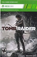 tomb raiders downloading game XBOX 360