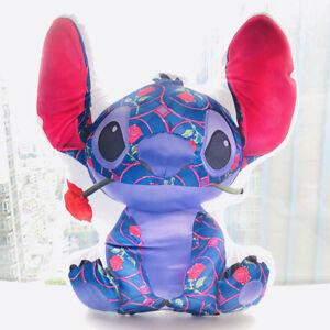 NEW Stitch Crashes Disney Beauty & the Beast Plush pillow cushion pad pillows