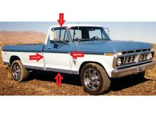 1973-1979 FORD F-SERIES PICKUP, ALL, FRONT DOOR WEATHERSTRIP SEALS, PAIR