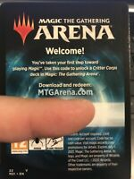 MTG Arena Full Deck CODE Critters Corps 5 Rare 1 Mythic From M21 Welcome Booster