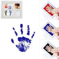 Tampon encreur pour peinture à l'huile pour nouveau-né empreinte de main de bébé