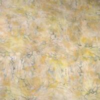 Cream, Pewter & Gold Batik, A Central Java Cotton Fabric, Per 1/2 Yd or Per Yd