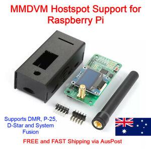 Fr DMR P25 YSF DSTAR Raspberry Pi UHF VHF UV MMDVM Hotspot Module OLED Ant Kit
