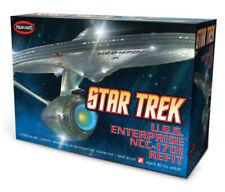 Polar Lights Star Trek USS Enterprise NCC-1701 1/1000 snap model kit new 820