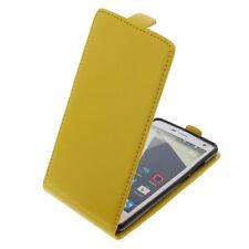 Funda para ZTE Blade L3 Tipo Flip Funda para móvil Funda con tapa amarillo