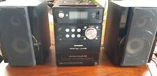 Telefunken Mini Kompaktanlage CDPlayer / Kassettenrecorder / Radio + USB MP3