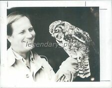 1989 Wild Kingdom Host Jim Fowler Original News Service Photo