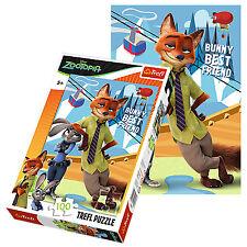 Trefl 100 piezas Niños Unisex Disney Zootopia Bunny conejo jigsaw puzzle NUEVO