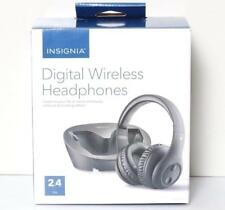 INSIGNIA Digital Wireless Headphones for TV & Audio Devices NS-WHP314 SR