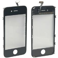 Originale VETRO Touch screen + frame iPhone 4S NERO Vetrino touchscreen cornice