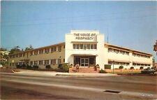 1950s Voice of Prophecy Broadcasting Studios Los Angeles California postcard 201