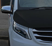 Black Front Bonnet Bra / Protector To Fit Mercedes-Benz Vito W447 (2015+)