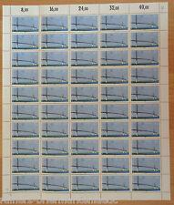 Bund BRD Cept 1322 kompl. Bogen Europa Architektur postfrisch Full sheet FN 2