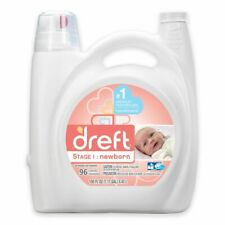 Dreft High Efficiency Liquid Detergent in 150-Ounces (96 Loads)New Born Stage1