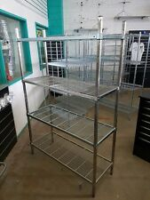 Mantova Wire Shelf Cool Room Shelving available in zinc and in many sizes