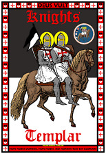 Knights Templar 13x19 Official Seal Poster