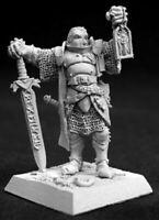 Reaper Miniatures - 14055 - Marcus Gideon, Crusaders Hero - Warlord