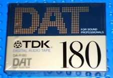 DAT  TDK  DA-R   180   DIGITAL AUDIO TAPE (1) (SEALED)