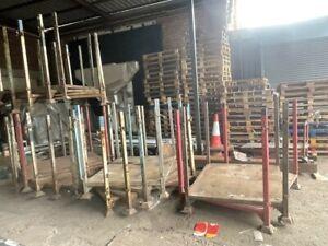 Metal Stillage HEAVY DUTY Stackable Storage Racking Post Pallet 1.5 TONNE LOAD