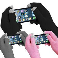 Unisexe Femmes Hommes Tricoté Poignet Laine Mains Gants D'écran Mitaines Tactil