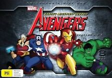 The Avengers-Earth's Mightiest Heroes Season 1 &  2 DVD 8-Disc Set Brand New